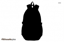 Luggage Backpacks Bags Silhouette