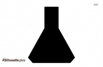 Science Lab Equipment Silhouette Illustration