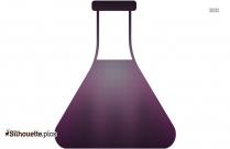 Scientist Flask Silhouette