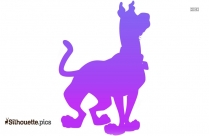 Scooby Doo Silhouette Clipart