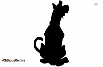 Pug Puppy Silhouette Clipart
