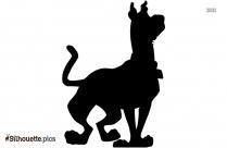 Scooby Doo Silhouette Free Vector Art