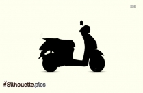 Scooter Silhouette Png