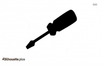 Screwdriver Silhouette Black And White