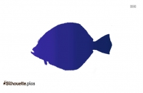 Trout Fish Silhouette Free Vector Art