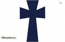 Scroll Cross  Clipart || Crosses Cross Silhouette