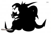 Scrooge Mcduck Silhouette Clip Art