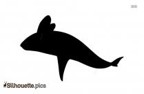 Angler Fish Cartoon Silhouette