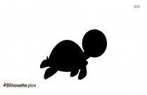 Sea Turtle Icon Silhouette