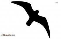 Cartoon Bat Symbol Silhouette