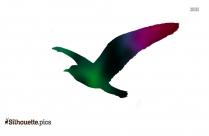Seagull Silhouette Clip Art Image