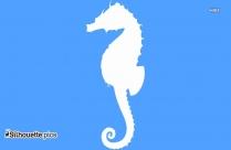 Seahorse Symbol Silhouette