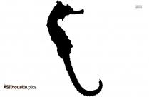 Seahorse Silhouette Printable