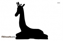 Giraffe Statue Silhouette Clip Art