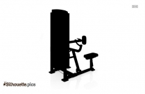 Stair Climber Silhouette Image