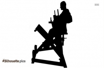 Seated Row Silhouette Vector And Graphics