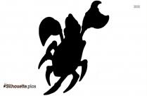 Sebastian The Crab Silhouette Clip Art