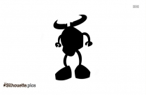 Mixels Flexers Cartoon Character Vector Silhouette