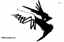 Cute Bird Silhouette Clip Art