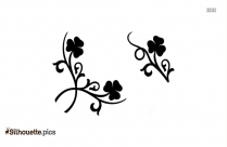 Single Flower Silhouette Vector And Graphics