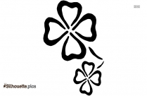 Simple Flower Drawing Silhouette Clip Art