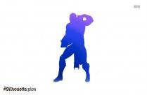 Black Hades Disney Silhouette Image