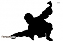 Female Kickboxing Silhouette, Image