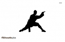 Shaolin Monk Silhouette