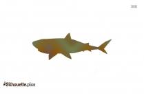 Cat Shark Vector Silhouette