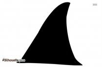 Shark Fin Free Clipart Silhouette