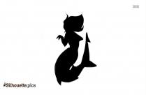 Cartoon Shark Clipart Silhouette