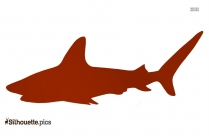 Fin Clipart Silhouette Drawing