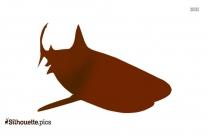 Shark Gills Clipart Silhouette