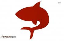 Whale Fish Clipart, Cartoon Sea Animals Silhouette