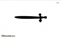 Tribal Sword Drawings Silhouette