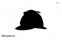 Sherlock Hat Silhouette Icon