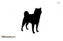 C.ipart Irish Setter Dog Breed Silhouette