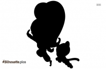 Mickey Mouse And Friends Silhouette Clipart