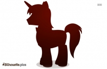 Shining Armor Silhouette Picture