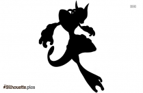 Shiny Mega Mewtwo Silhouette Image And Vector