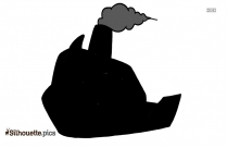 Pirate Ship Outline Drawing Image
