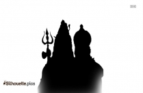 Lord Ganpati Silhouette