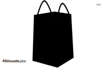 Women Hand Bag Silhouette