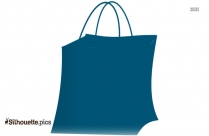 Shopping Bag Clip Art Silhouette
