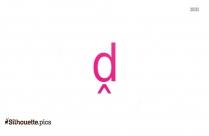 Short Letter Symbols Silhouette Clip Art