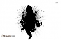 Shri Ganesha Silhouette Drawing