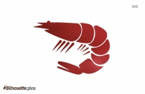Shrimp Food Silhouette