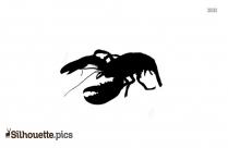 The Shrimp Bucket Silhouette Image