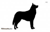 Dog Puppy Silhouette Drawing