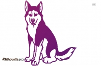 Dog Dayzz Clipart Image Silhouette